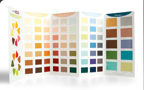 Exterior emulsion paint shade card at rs 25 piece paint - Ace exterior emulsion shade cards ...