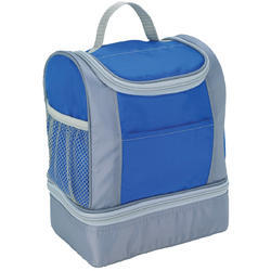 Blue And Grey Lunch Bag