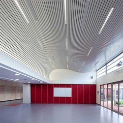 Aluminum Linear False Ceiling