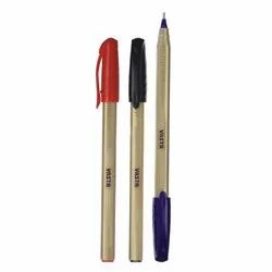 Plastic Golden Trigrip Pen, A5-1 for Writing