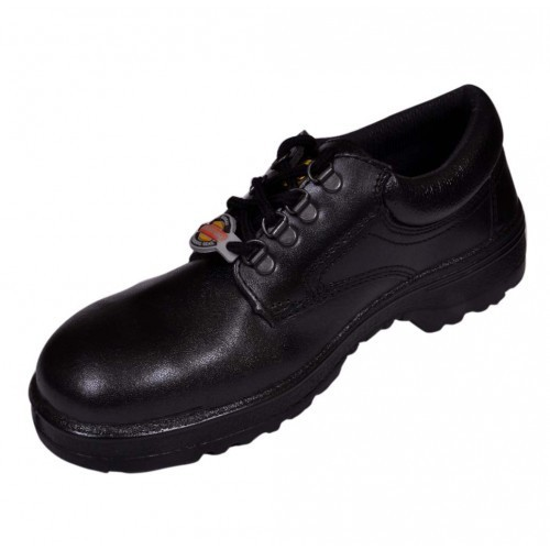 1b30059478669b Liberty Casino Leather Black Safety Shoes, Size: 5 - 11, Rs 950 ...