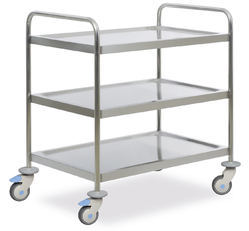 3 Shelves Surgical Instrument Trolley