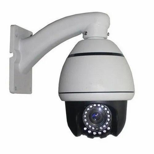 Digital Camera 1.3 MP Outdoor PTZ Dome Camera, for Security