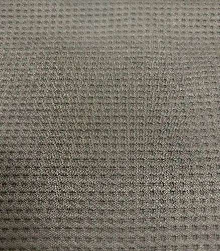 Polyester Knitted Waffle Interlock Fabric Gsm 250