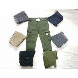 Casual Wear Plain Mens Pants, Size: 30-36