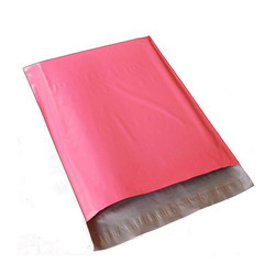 Plain Pink Polythene Secure Packaging Envelopes