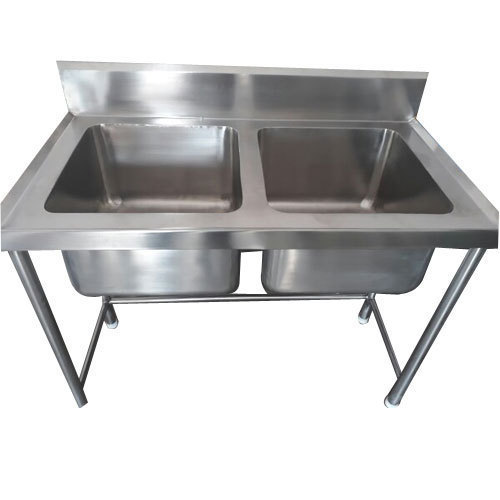 Mirror Finish Wall Mount Stainless Steel Kitchen Sink Rs 13000