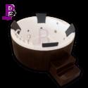 Zora Acrylic Hydromassage Spa Bathtub