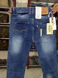 Male Lycra Branded Jeans