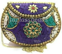 Ceramic Clutch Bag From India