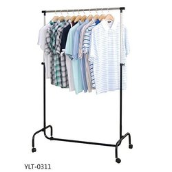 Single pole exhibition stand