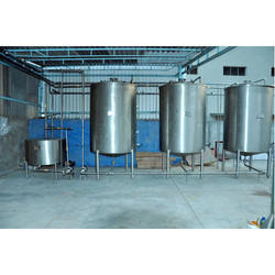 Semi Automatic Soda Soft Drink Plant