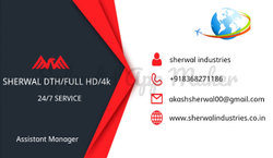 Sherwal DTH /Full HD /4K Service In Delhi