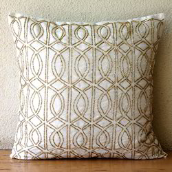 Vintage Silk Cushion Cover