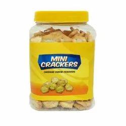 200 Gram Mini Cracker Biscuit, Packaging Type: Jar