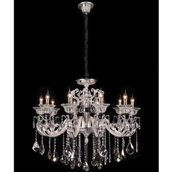 Candle-Style Jaquar Celosia Crystal Candle Chandelier Lamp Shade for Decoration