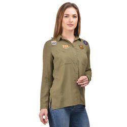 Surplus Stripes Shirt For Women