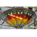 Designer Stained Ceiling Glass