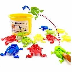 Frog Jumping Plastic Toy