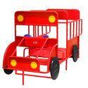 SNS 309 Fire Truck Playground Climber