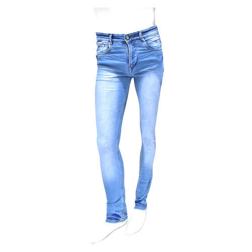 Blue Mens Denim Jeans
