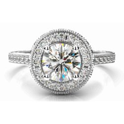 Classic Designer Diamond Engagement Ring