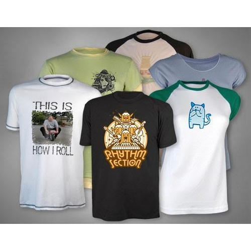 603f6ee17 Custom T Shirts with Multi Color Logo at Rs 85 /piece | Raghavendra ...