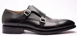 Men Double Monk Strap Shoes