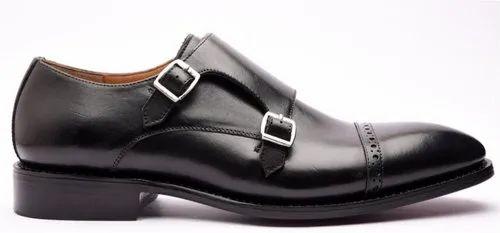 Men Double Monk Strap Shoes, Rs 2450
