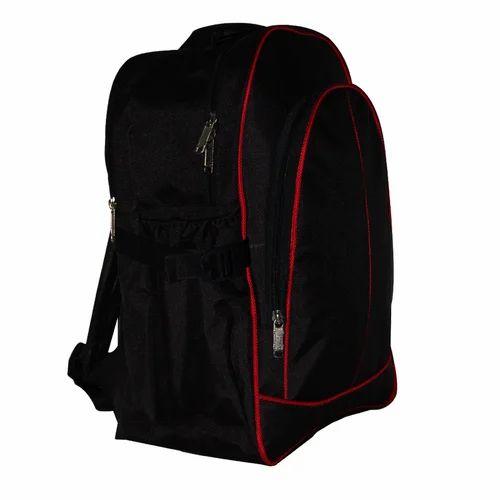 3d559efa99b Polyester Black College Bag, Rs 350 /piece, KBC Creations | ID ...