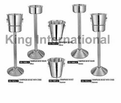 Hotelware Steel Items Champagne Bucket With Stand