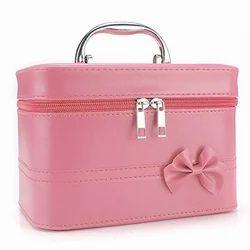 Pink Ladies PU Makeup Box