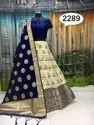 Viraasat Banarasi Silk Unstitched Party Wear Lehenga