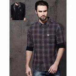 Collar Neck Men Reversible Casual Shirts