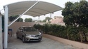 Pyramid Tensile Car Parking Shed