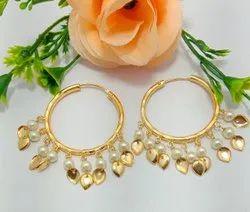 Elegant Peepal Patti Earrings
