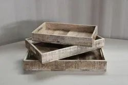 Decor N Utility Crafts Wooden Serving Tray