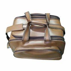 KB Bags Brown Leather Luggage Bag