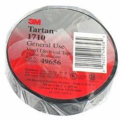 Black 3M Tartan Vinyl Electrical Tape 1710