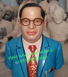 Blue Ambedkar Marble Bust