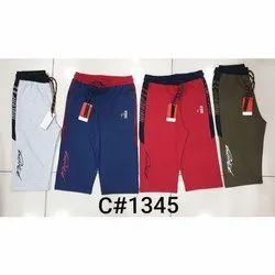 Casual Wear Boy Printed Kids Cotton Capri, Size: S-XL