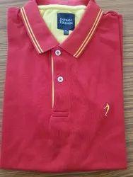 Indian Terrain Cotton Mens Polo T Shirt