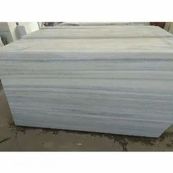 Polished Finish Aarna White Marble, Thickness: 15-20 mm