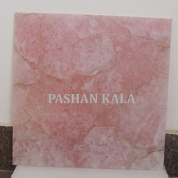 Pink Rose Quartz Tile