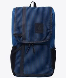 Blue Strips Free Size Backpack