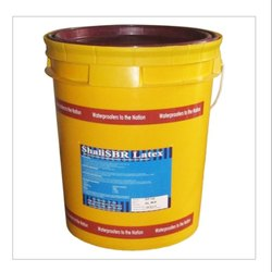 ShaliSBR Latex -Bonding Admixture for Adhesion & Repairs of Concrete Structures, Packaging Type: Bucket