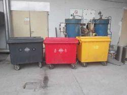 Municipal 4 Wheeled Dustbin