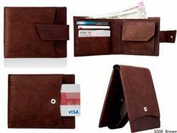 Genuine Leather Credit Card Mens Wallet (5008)
