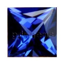 Tanzanite Square Cut Gemstone