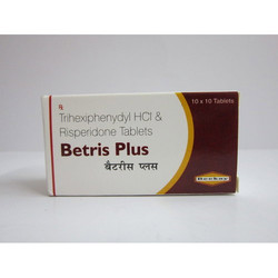 Beekay Betris Plus Tablets, For Hospital, Clinical, Packaging Type: Strips